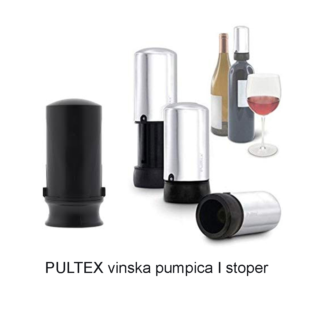 PULTEX vinska pumpica I stoper