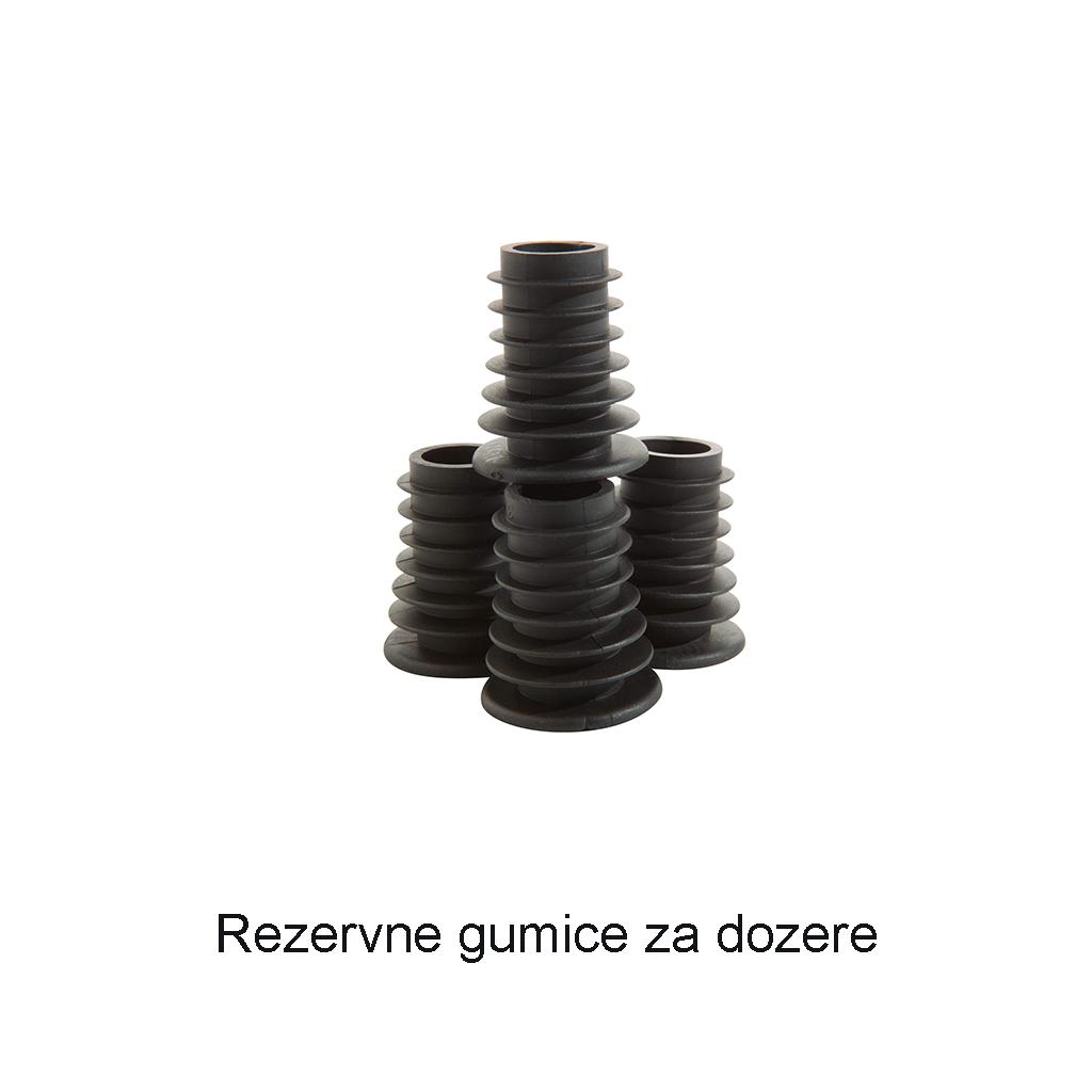 Rezervne gumice za dozere